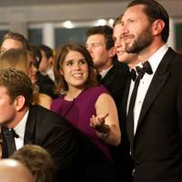 Bear Maclean, Princess Eugenie and Ben Fisher