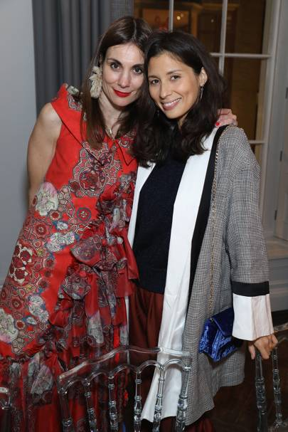 Maria Kastani and Jasmine Hemsley