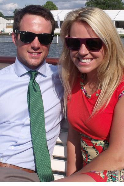Chemmy Alcott and Dougie Crawford