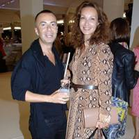 Julien Macdonald and Isabelle de la Bruyère