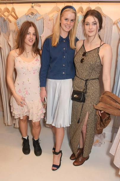 Isobel Salter, Isabella Weatherby and Millie Brady