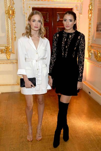 Florrie Arnold and Cora Corre