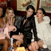 Justine Skye, Lily Donaldson, Bella Hadid and Kendall Jenner
