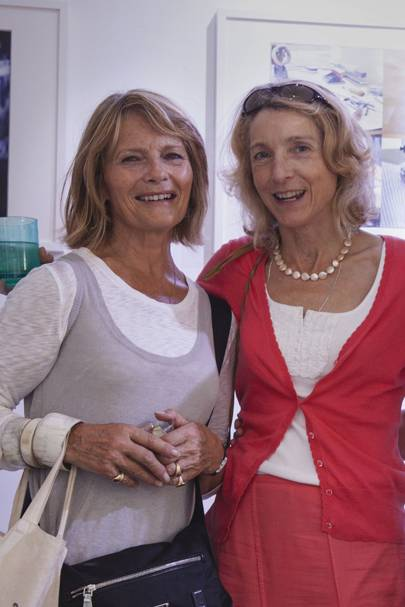Penny Horne and Vivien Green