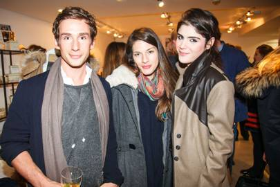 James Dashwood, Melina Griffiths Lettersten and Lexi Abrams