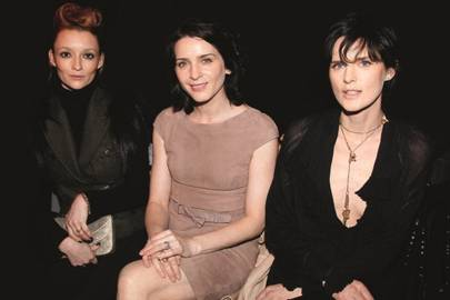 Audrey Marnay, Michele Hicks and Stella Tennant