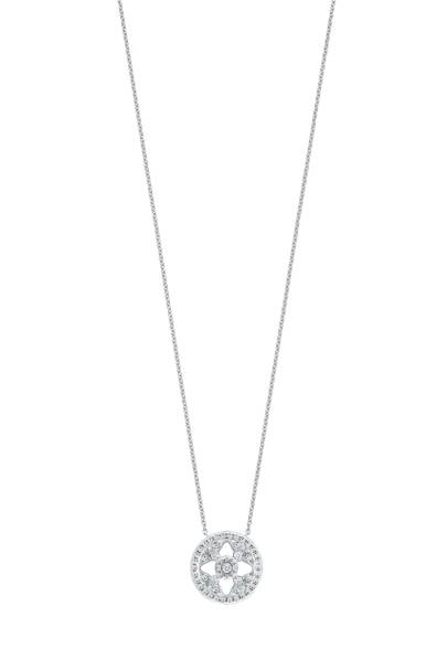 Mappin & Webb Empress Diamond Pendant Necklace