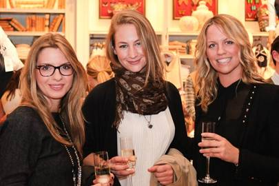 Victoria Puviani, Isabella Naef and Stephanie Johnson