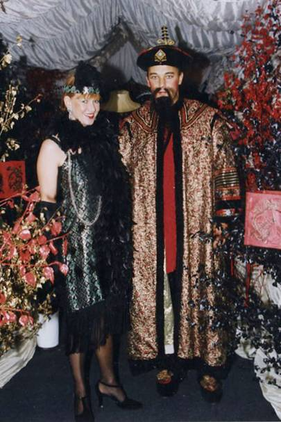 Mrs Richard David and Richard David