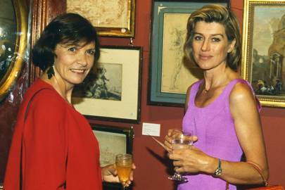 Mrs Jack Emery and Selina Scott