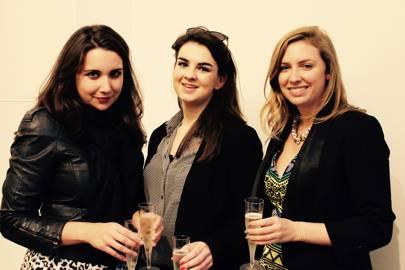 Pollyanna Midwood, Jessica Shutt-Vine and Elizabeth Wayner
