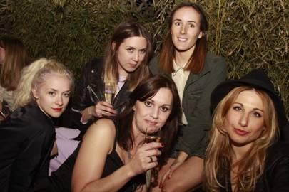 Portia Freeman, Emily Sykes, Teresa Tarmey, Sam Marshall and Sophie Ball