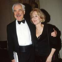 Louis Zorich and Olympia Dukakis