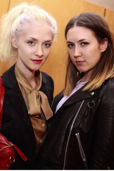 Portia Freeman and Emily Sykes