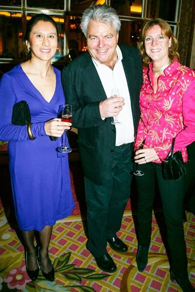 Nomi Kakoty, Chris Caldicott and Mary-Anne Denison-Pender
