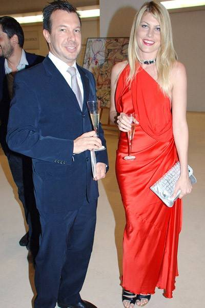Scott Rudmann and Meredith Ostrom