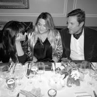 Charlotte Stockdale, Katie Lyall and Simon Le Bon