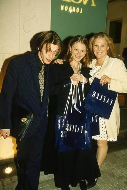 The Hon Jenico Preston, Emilia Fox and Lucy Fox