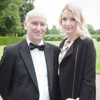 John Talbot and Lauren Laverne