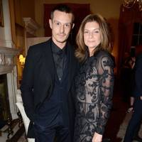 Jonathan Saunders and Natalie Massenet