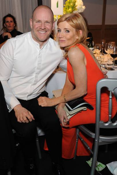 Chris Harper and Michelle Collins
