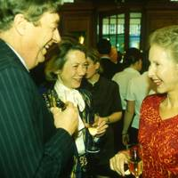 The Hon Gerald Maitland-Carew, Mrs Gerald Maitland-Care and the Countess of Mansfield