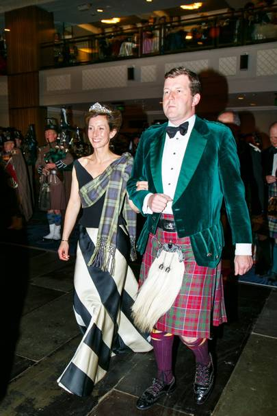 Lady Louise Burrell and Guy Macpherson-Grant