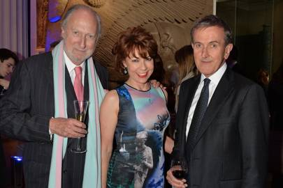 Ed Victor, Kathy Lette and Neil Macgregor