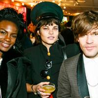 Shingai Shoniwa, Tessa Edwards and Jack Peñate