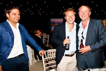 Jamie Reuben, Dave Clark and Christian Hamilton
