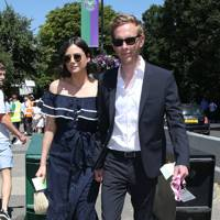 Lilah Parsons and Laurence Fox