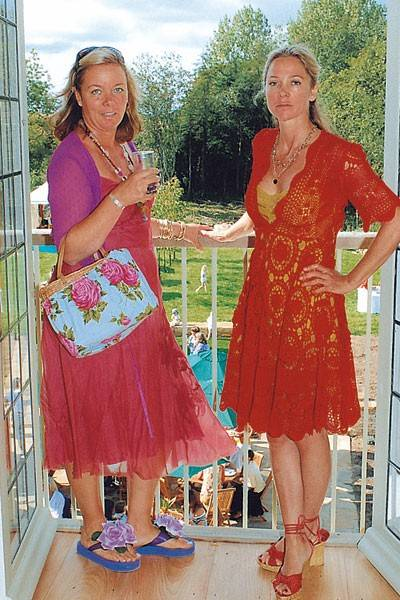 Mrs Jamie Collins and Lady Liza Campbell