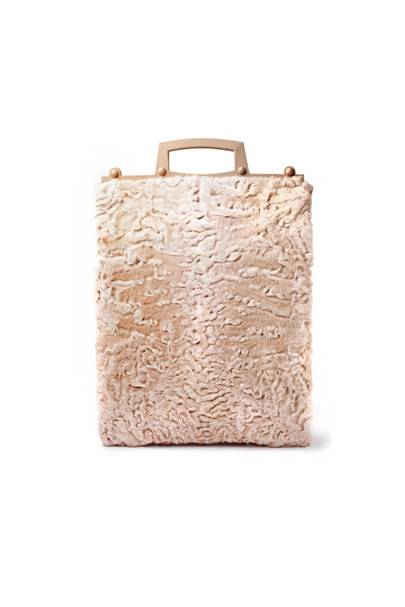 Astrakhan bag, £2,270, by Givenchy by Riccardo Tisci