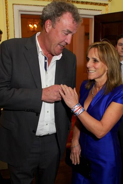 Jeremy Clarkson and Frances Clarkson