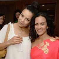 Kay Montano and Anoushka Shankar