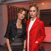 Jemima Goldsmith and Laura Bailey