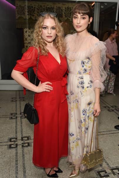 Ciara Charteris and Elise Campbell