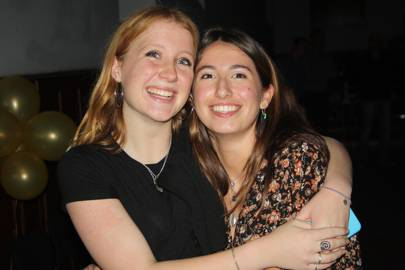 Leila Tillard and Emma Kitson