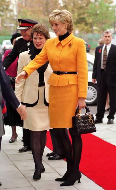 Princess Diana, 1996.