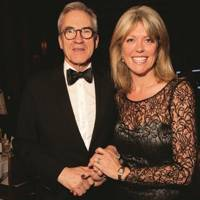 Larry Lamb and Emma Norris