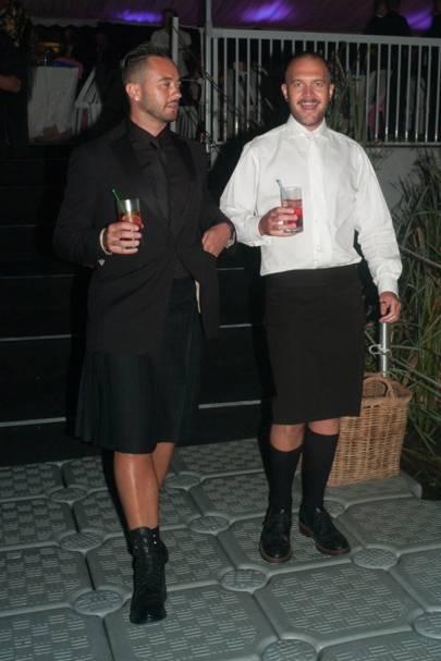 Charlie Marais and Jaco Bam