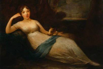 Lady Caroline Lamb and Phyllis by Eliza H. Trotter c. 1810