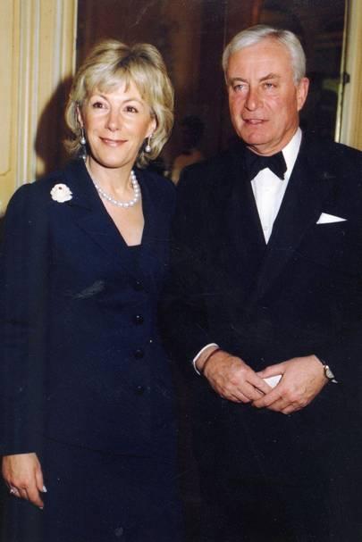 Mrs Rupert Hambro and Rupert Hambro