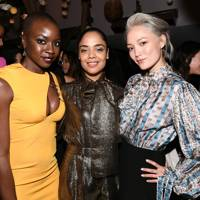 Danai Gurira, Tessa Thompson and Pom Klementieff