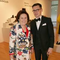 Suzy Menkes and Erdem