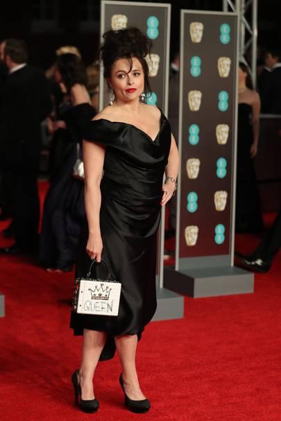 Helena Bonham-Carter in Vivienne Westwood