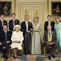 The Prince of Wales and the Duchess of Cornwall's wedding portrait, 2005