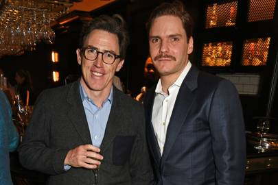 Rob Brydon and Daniel Bruhl