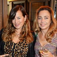 Jade Jagger and Jeanne Marine