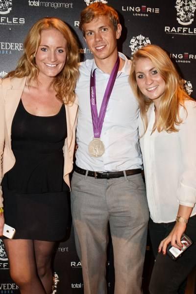 Lara Harris, Rob Williams and Amy Dane